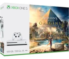 Xbox One S + Star Wars Battelfront II + Assassin´s Creed Origins für 205€ (Microsoft CH)