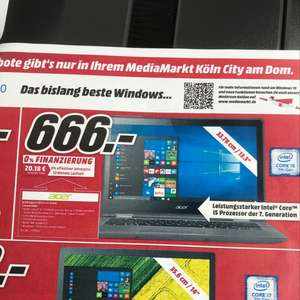 Acer SP513-51-51D9 ( Mediamarkt Köln City am Dom)