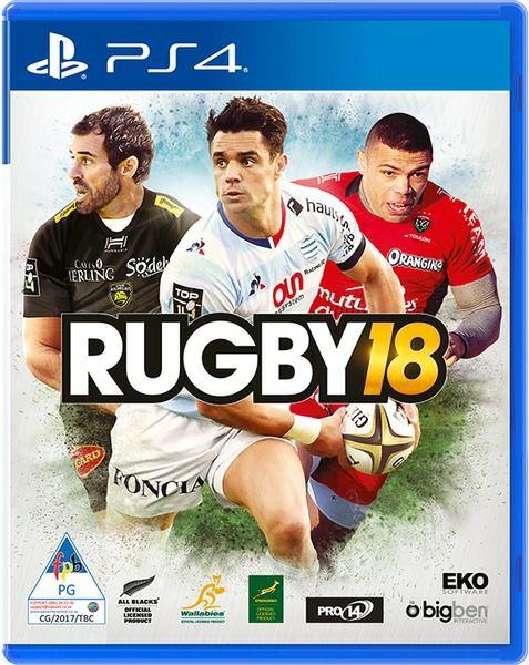Rugby 18 Ps4  35,98€ (shop4.de)