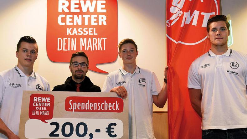[Lokal Kassel/Nordhessen] REWE reduzierte MT Melsungen Tickets ab 50€ Einkauf