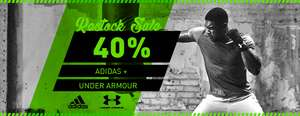 40% auf adidas & Under Armour auf mysportswear.de – komplettes Sortiment!