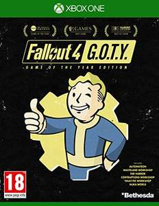 Fallout 4 – Game of The Year Edition (Xbox One & PS4) für je 30,99€ (Amazon UK + Game UK)