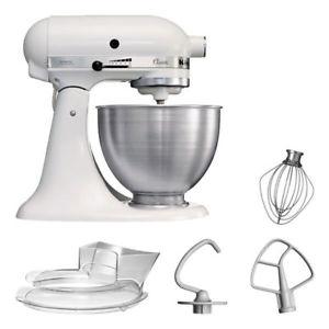 [ebay] KitchenAid 5KSM45EWH Küchenmaschine 4,3L Weiß für 299,00 inkl VK