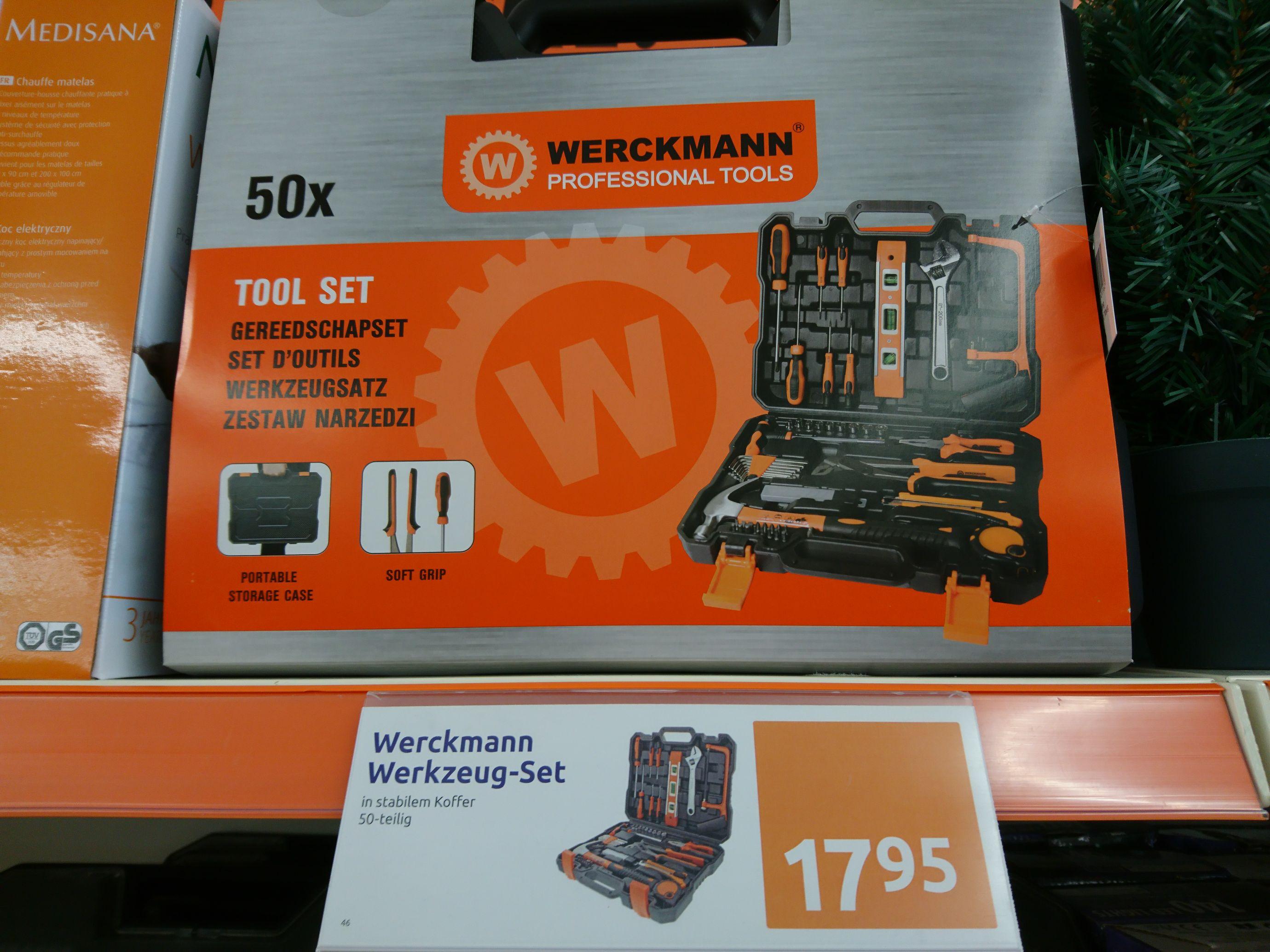Action Märkte: Werkzeugkoffer 50 teilig