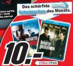 2 Filme 1 Preis (10€) Blu ray @MediaMarkt Berlin OFFLINE