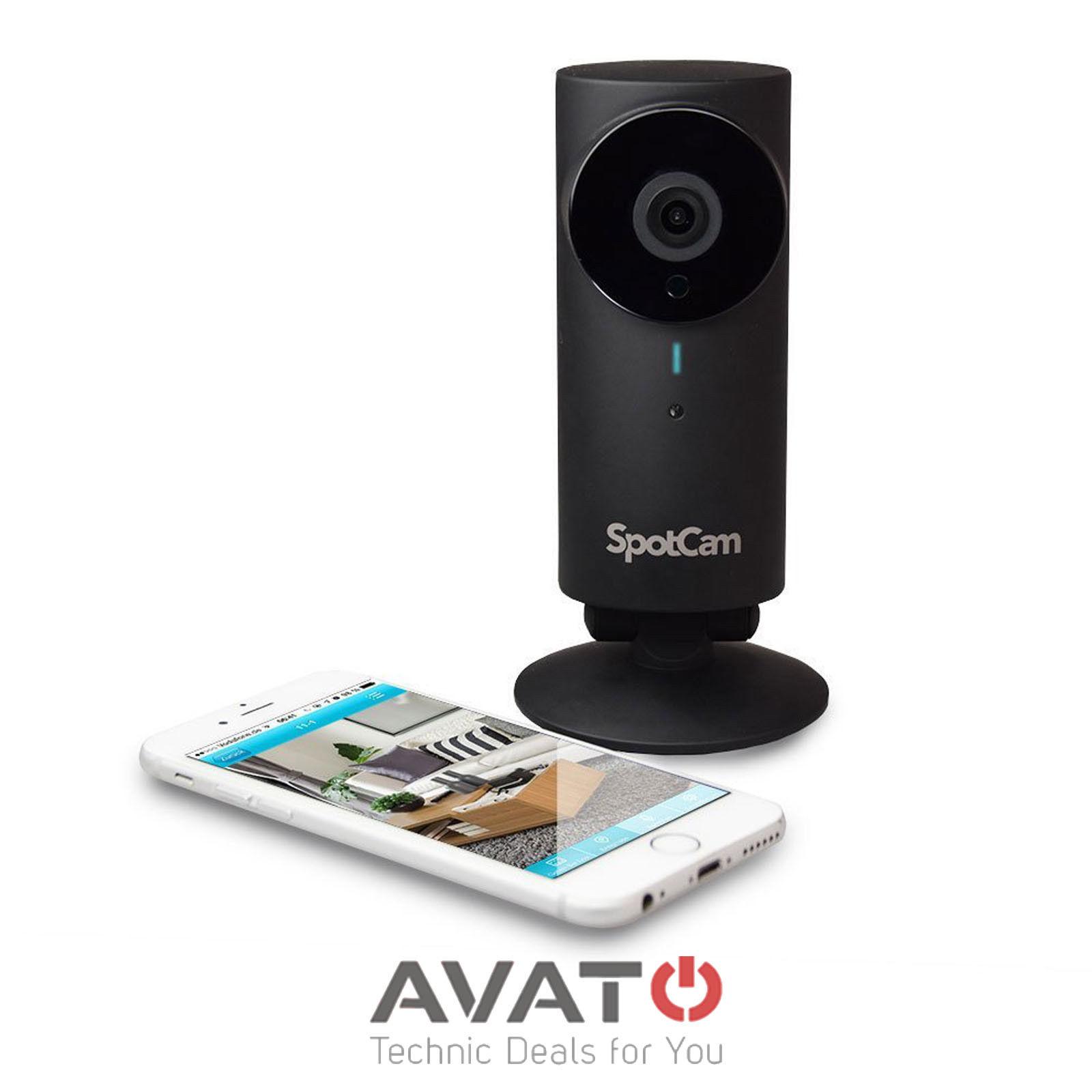 SpotCam HD Pro - WLAN Cloud Überwachungskamera Tieftspreis