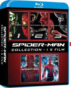 Spider-Man Collection (5x Blu-ray) (O-Ton) für 13,60€ oder 4x für 23,50€ (Amazon.it)