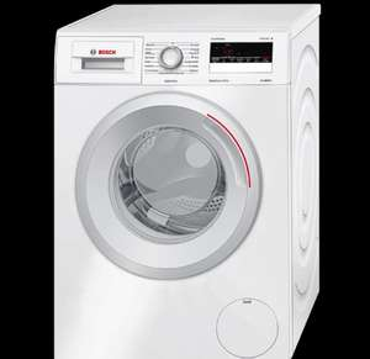 Bosch 7kg Waschmaschine WAN282ECO Serie 4 | 1400 U/Min | Aquastop Garantie | ActiveWater 2-Stufen Mengenautomatik | max. 74 dB schleudern | A+++ [Media Markt]