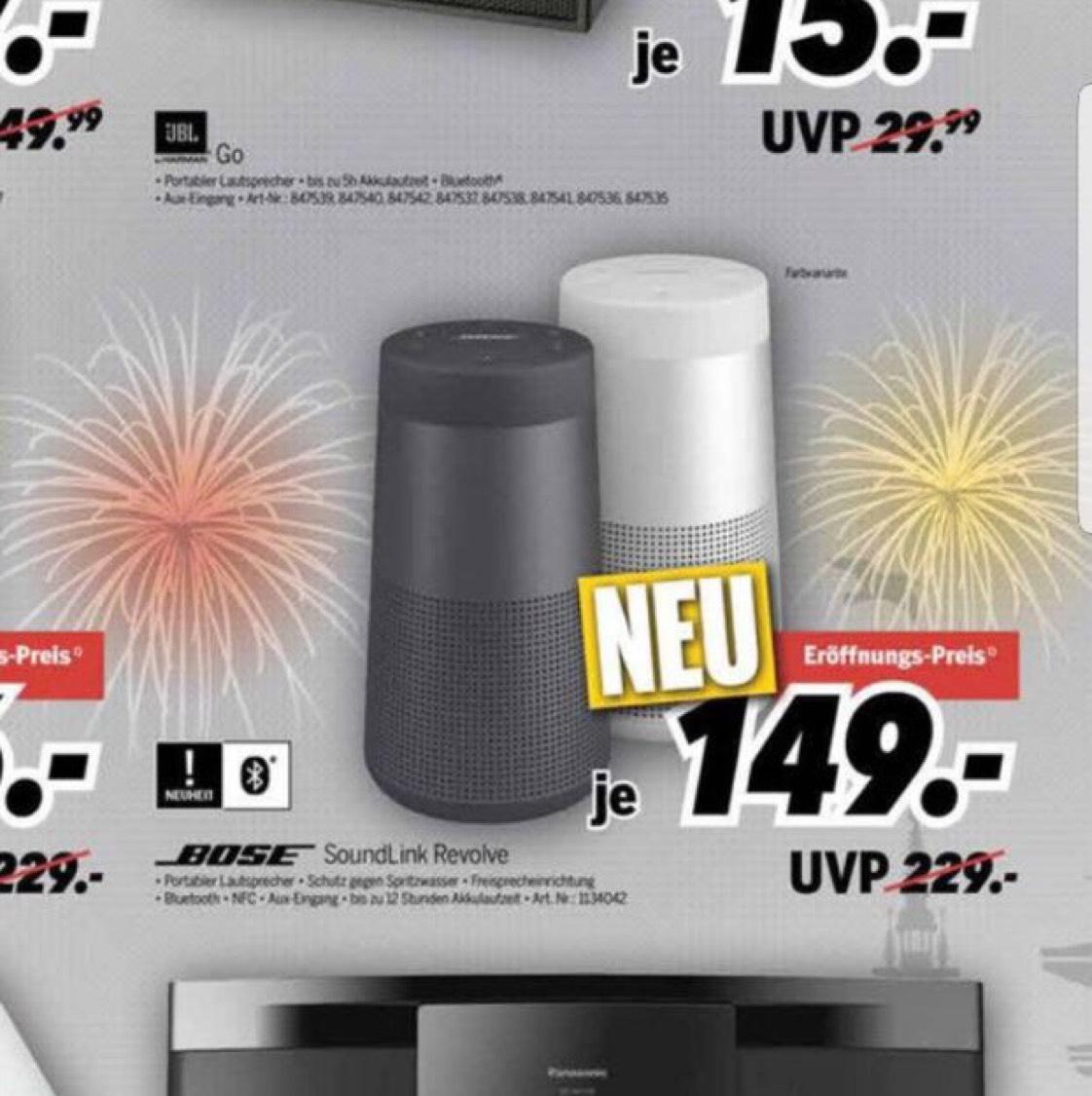 [Lokal] Medimax Hamburg & Schenefeld - Bose Soundlink Revolve Bluetooth Lautsprecher