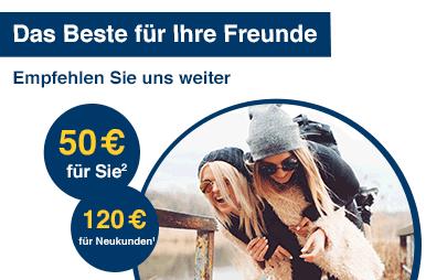 [1822direkt] 120€ + 50€ KWK Prämie für GiroSkyline (kostenlos)