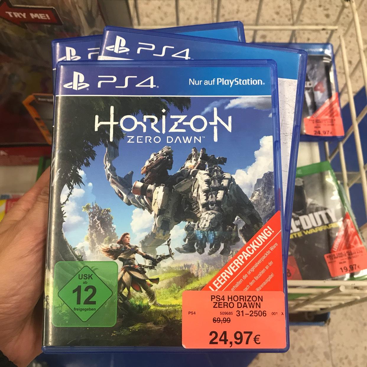 Lokal Toys R US Hamburg Eidelstedt / Horizon Zero Dawn 24,97€ oder Disney Infinity Star Wars für 5,97€