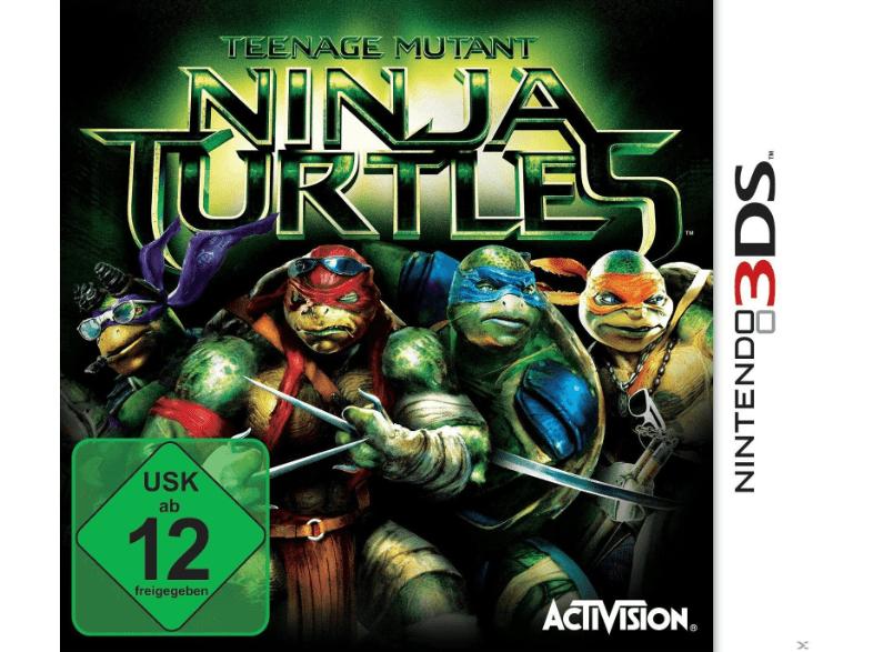 Teenage Mutant Ninja Turtles - Nintendo 3DS für 7€ per Abholung / Saturn
