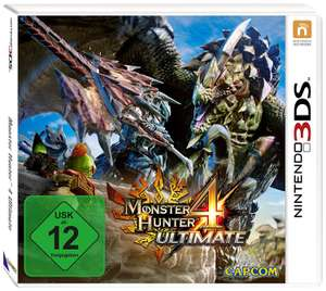 Monster Hunter 4 Ultimate (3DS) für 16€ (Saturn)