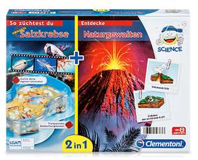 @Aldi Süd ab 23.11.2017 Clementoni  2-in-1 Experimentierkasten für Kinder je Set 9,99 Euro