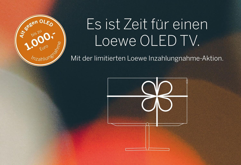 LOEWE - Alt gegen OLED - 300 bis 1.000€ Inzahlungnahme-Bonus