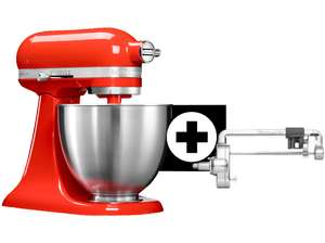 mediamarkt kitchenaid 5ksm3311exht inkl spiralschneider k chenmaschine hot sauce rot oder. Black Bedroom Furniture Sets. Home Design Ideas