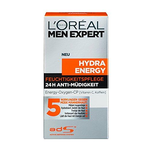 L'Oréal Men Expert Hydra Energy Anti Müdigkeit Feuchtigkeitspflege, 50 ml