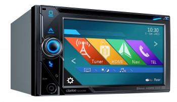 CLARION NX405E - 2 DIN NAVIGATIONSRADIO | DVD | HDMI | USB | BLUETOOTH (just-sound.de)