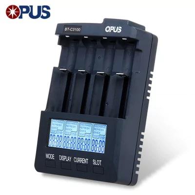 [Gearbest] Batterieladegerät Opus BT - C3100 V2.2 für Li-Ion, NIMH und NiCd