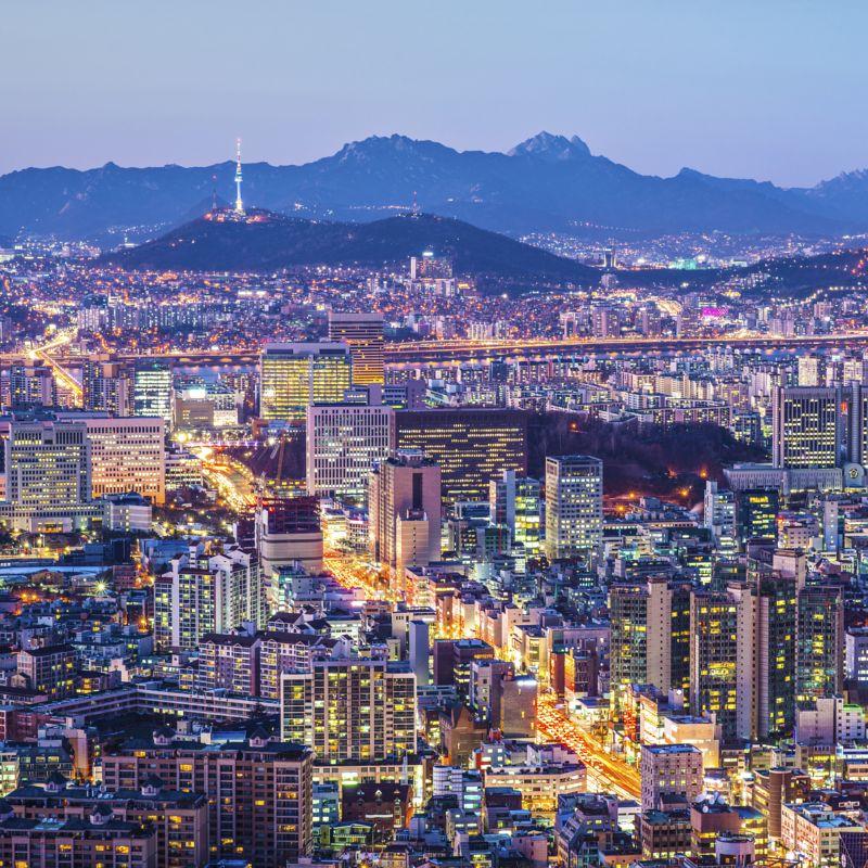 Flüge: Südkorea [November - Dezember] - Hin- und Rückflug von Frankfurt nach Seoul ab nur 328€ inkl. Gepäck
