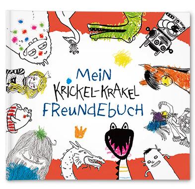 Mein Krickel-Krakel-Freundebuch - Freundschaftsbuch für Kinder, bei Abholung @Tchibo