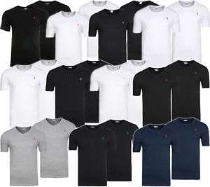 2er Pack U.S. POLO ASSN. BASICS Rundhals & V-Neck T-Shirts @eBay