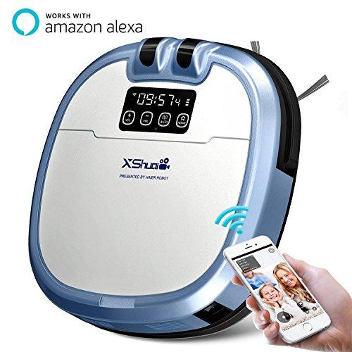 Blitzdeal: Haier XShuai C3- Staubsaugerroboter mit Siri und Amazon Alexa Sprachsteuerung