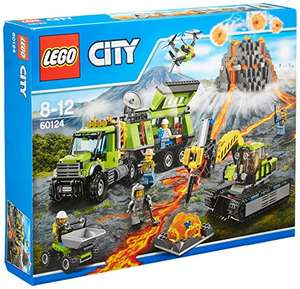 LEGO City 60124 - Vulkan-Forscherstation  - Amazon.co.uk