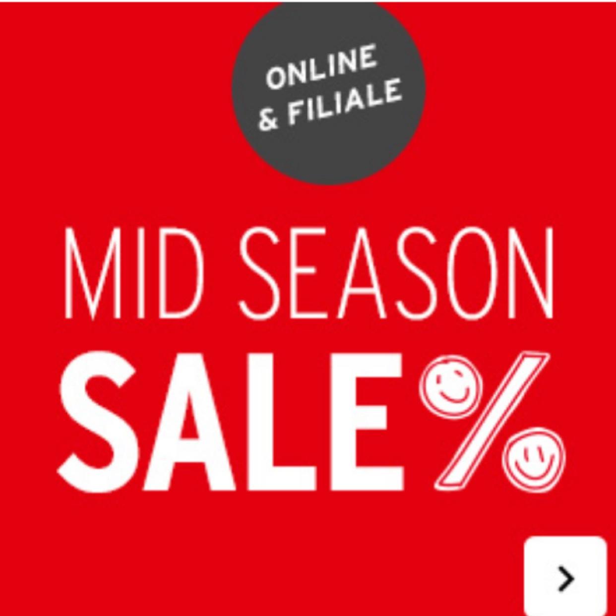 [Online/Lokal] Ernsting's Family Mid Season Sale