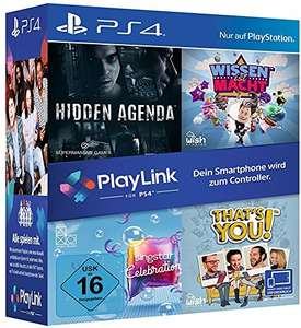 PlayLink Bundle (Wissen ist Macht, Hidden Agenda, SingStar Celebration & That's You!)