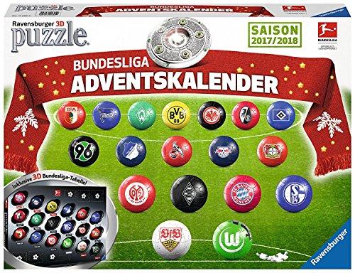 Ravensburger 11695 - Adventskalender Bundesliga 3D Puzzle - jetzt für nur noch 10,56 € @ amazon Prime (only)