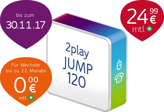 Unitymedia Jump120 über Bizimnet zu 24,99€/Monat
