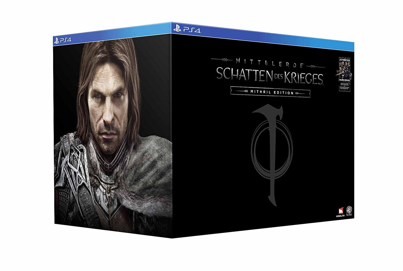 Mittelerde: Schatten des Krieges Mithril Edition (PS4/Xbox One) für 99,99€ (GameStop)