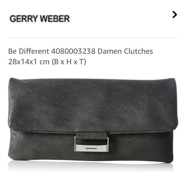 Gerry Weber Clutch grau - Prime