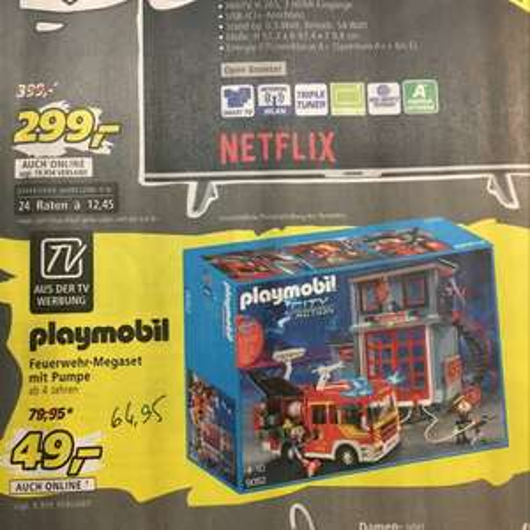 [Real] Playmobil 9052 Feuerwehr set