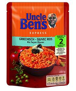 Uncle Ben's Express-Reis 50% durch Aktion! 6+6 Packungen(VEGAN)