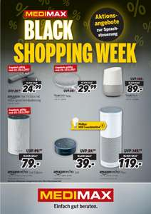 [MEDIMAX Hildesheim] Große Black Shopping Week // Google Home und Amazon Echo