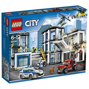 Amazon.co.uk - LEGO City 60141 - Polizeiwache für ca. 55 €