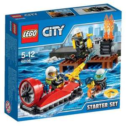 [Blitz-Angebot] Lego City 60106 - Feuerwehr-Starter-Set