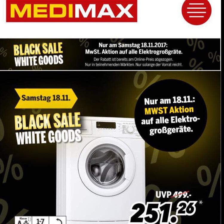 Bauknecht 7kg WAK 73 Waschmaschine im Black Sale (MwSt. geschenkt)