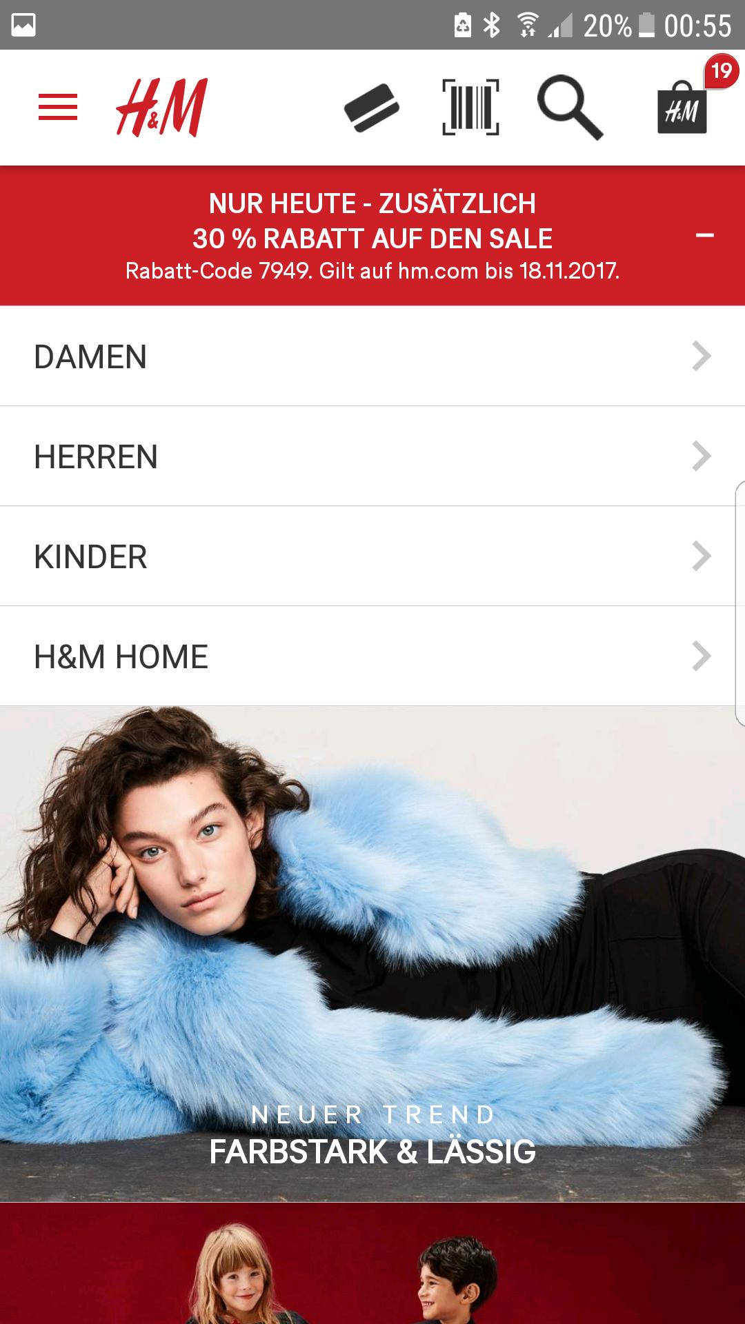 H&M online 30% auf sale
