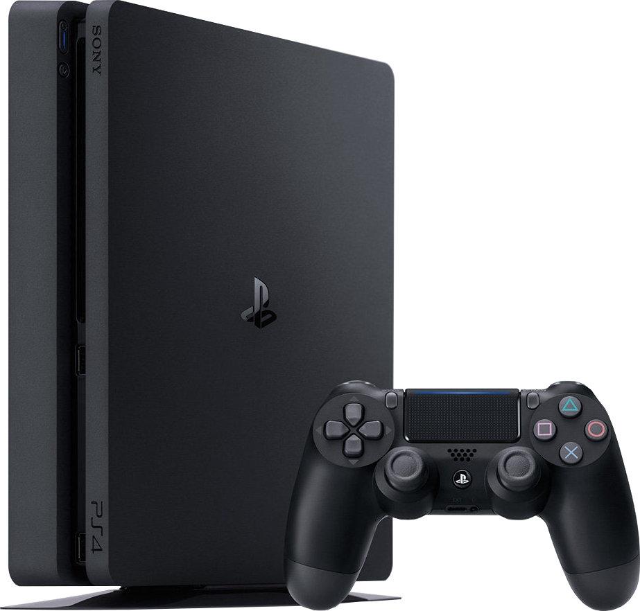 Sony PlayStation 4 Slim - 500GB, schwarz PS4 Online für 199 € bei electronic4you.de