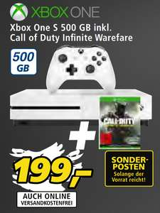 [REAL] Xbox One S 500GB + Call of Duty Infinite Warfare für 199€ + 1000 Payback Punkte