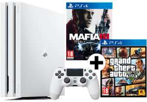 Playstation Pro weiß + GTA 5 + Mafia 3 für 337,99€ (MediaMarkt.at)