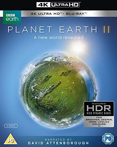 [amazon uk] günstige 4K UHDs, z. B. Planet Earth II 4k UHD / Planet Erde II: Eine Erde - viele Welten (4K Ultra HD) (2 BR4K) (+2 BRs) [Blu-ray], The Revenant ...
