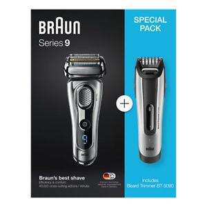 Ebay Plus - BRAUN Series 9-9260s + Beardtrimmer BT 5090 Herrenrasierer Nass-/Trockenbetrieb mit Cashback nur 130€
