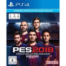 Pro Evolution Soccer (PES) 2018 (Legendary Edition 34,99) (Premium Edition 29,99) / PS4 & XBOX / Alternate.de