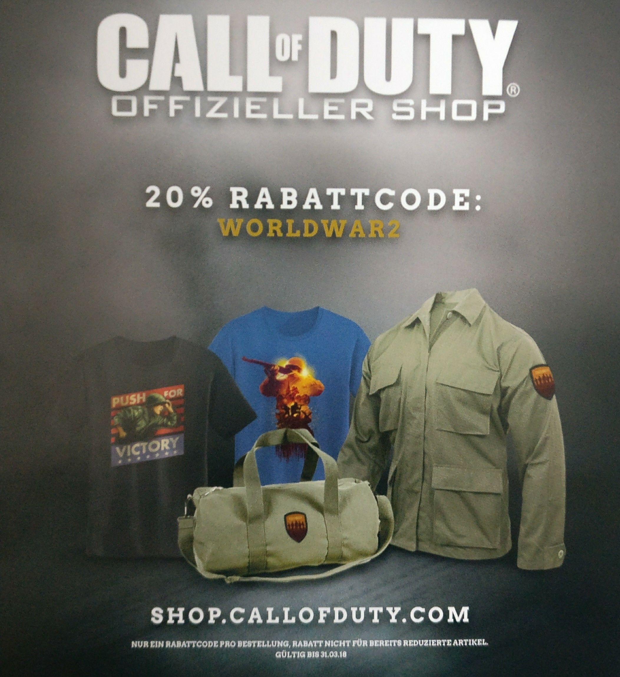 Call of Duty Fan Shop