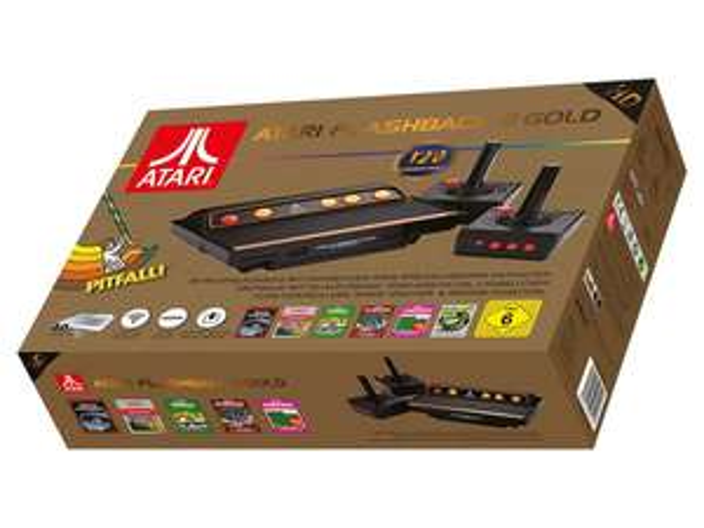 Atari Flashback 8 Gold (Retrokonsole) bei LIDL Online