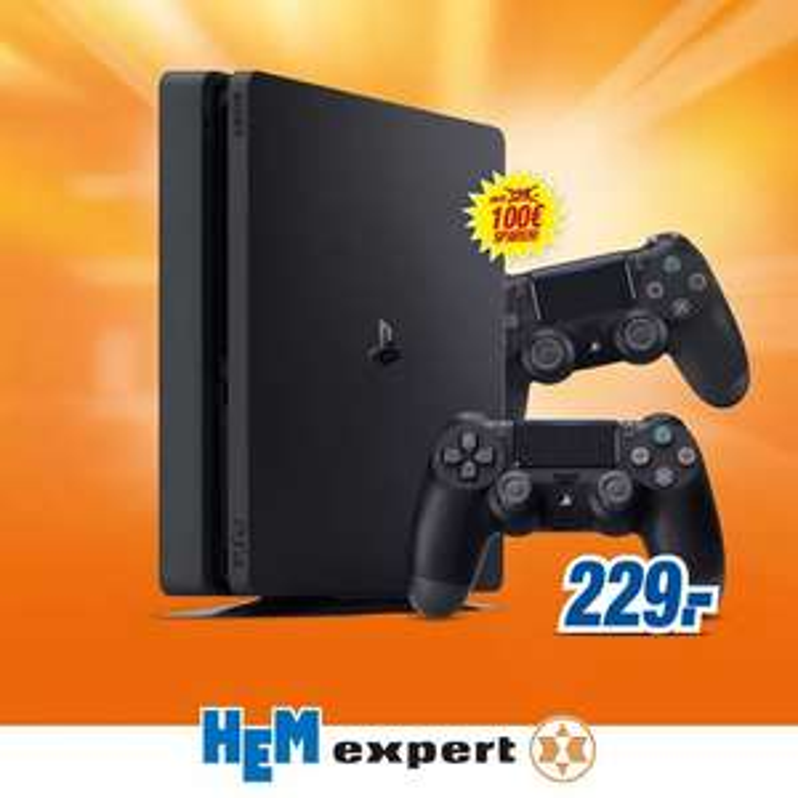 PS4 Slim mit 2 Controller für 229€